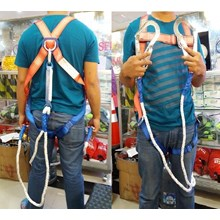 Full Body Harness Absorber lanyard kait ganda