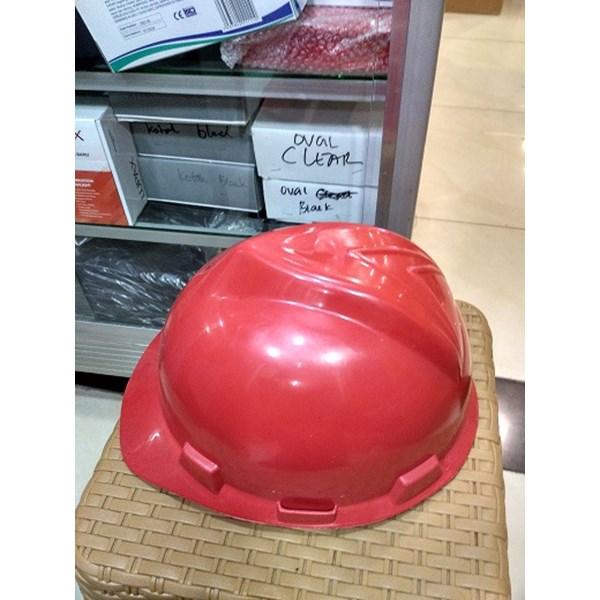 Helm Proyek TS Merah