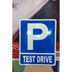 Rambu Lalu Lintas Parkir Test Driver 1