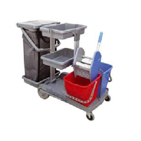 Janitorial Trolley Cart JT100 1