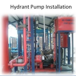 Hydrant Pump Installation By PT. Sakata Utama