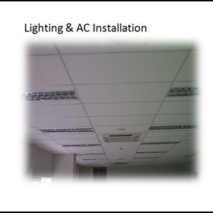 Lighting & AC Installation By Sakata Utama