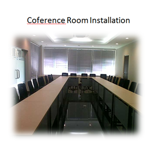 Coference Room Installation By PT. Sakata Utama
