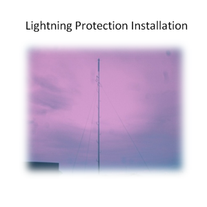 Lightning Protection Installation By PT. Sakata Utama