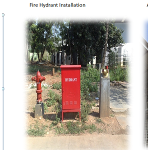 Fire Hydrant Installation By Sakata Utama