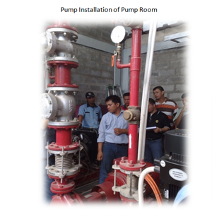 Pump Installation of Pump Room By PT. Sakata Utama