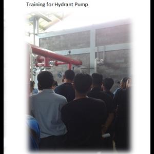 Training for Hydrant Pump By PT. Sakata Utama