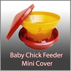 Tempat Pakan Ayam - Baby Chick Feeder Mini Tutup 1