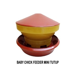 Baby Chick Feeder Mini Tutup