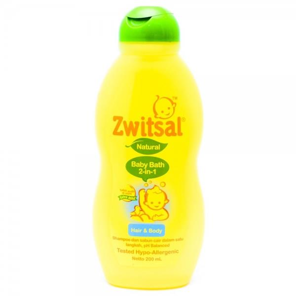 Sell Zwitsal Baby Bath 200 Ml Hair Body Amp From Indonesia
