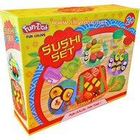 "Mainan Lilin Sushi Set  ""Fun Doh"""