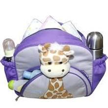 Tas Medium Saku Aplikasi Boneka Giraffe TPT1576