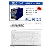 mesin las inverter MAC-JAPAN TIG 210P