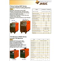 Mesin Pemotong Inverter Plasma Cutting Jasic Cut70 Cut100 1