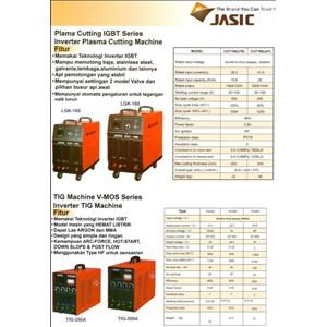 Mesin Pemotong Inverter Plasma Cutting Jasic Cut70 Cut100