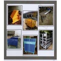 perbaikan evaporator pembuatan pallet besi dan stanlis steel