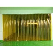 PVC Curtain Kuning ( PVC )