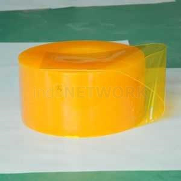 Plastik pvc curtain kuning ( PVC )