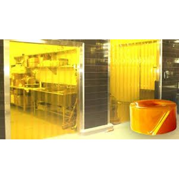 Strip pvc curtain kuning  ( 085782614337 )
