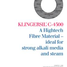 Gaskets klingersil 4500