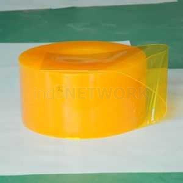 Plastik Gorden PVC Curtain Yellow