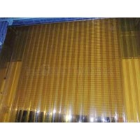Gorden plastik pvc curtain orange
