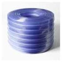 Gorden plastik pvc curtain blue clear tulang