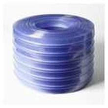 Gorden plastik pvc curtain blue clear tulang ( 085