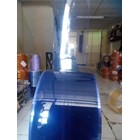 Mika PVC Curtain Blue clear ( 085782614337 ) 2