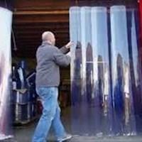 Tirai Pvc Curtain Geser dan Sliding 1