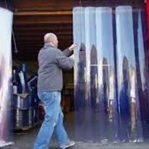 Tirai Pvc Curtain Geser dan Sliding