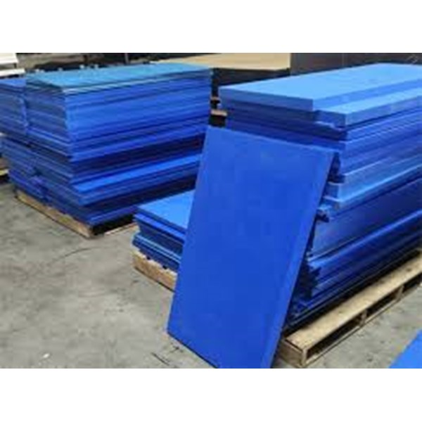 nylon biru lembaran 20 mm x 250 mm
