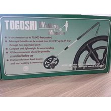 Meteran Jalan  - Meteran Dorong - Togoshi Measuring Wheel murah berkualitas HUB atau WA 081280588834