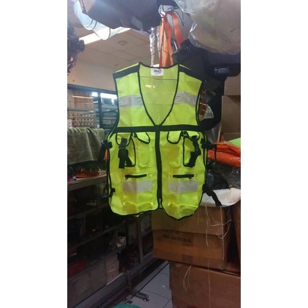 Rompi Jaring Kantong 6 Hijau - Orange Ready Murah Berkualitas HUB atau WA 081280588834