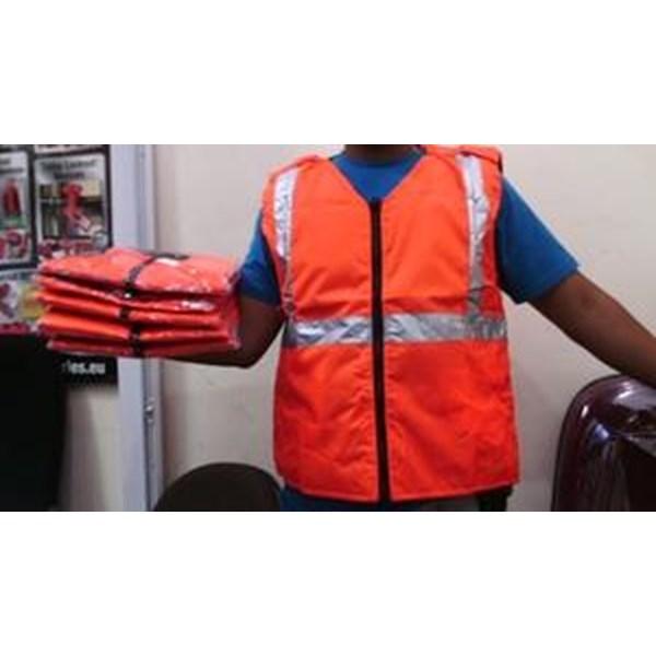 Rompi Busa Orange ALL SIZE murah berkualitas HUb atau WA 081280588834