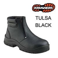 Safety Shoes Krusher Tulsa Black Ori Murah Berkualitas HUB atau WA 081280588834