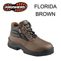 Safety Shoes Krusher Florida Brown ORI Murah Berkualitas HUB atau WA 081280588834