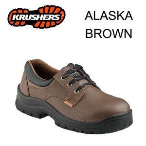 Safety Shoes Krusher ALASKA Brown Murah Berkualitas HUB atau WA 081280588834