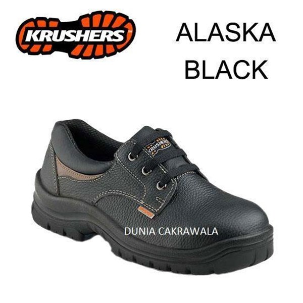 Safety Shoes Krushers Alaska Black Original Murah Berkualitas HUB atau WA 081280588834