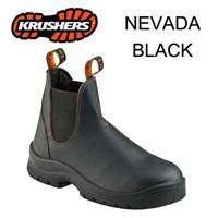 Safety Shoes Krusher Nevada Black Ori Murah Berkualitas HUB atau WA 081280588834