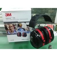 3m Earmuff Optime 105 H10a Peltor Nrr 30db Murah Berkualitas HUB atau WA 081280588834