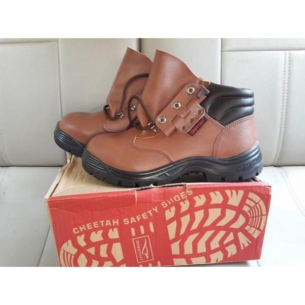 Sepatu Safety Shoes Cheetah 7112 C Murah Berkualitas HUB atau WA 081280588834