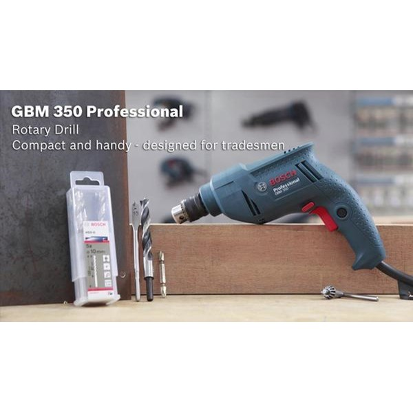 Bor Bosch Gbm 350 RE (Variable Speed And Reversible) murah