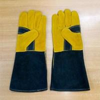 Sarung Tangan Las LEOPARD Murah Berkulitas HUB atau WA 081280588834
