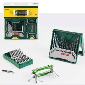 Bosch X-Line 41 Pcs Mata Bor + Mata Obeng Set + Extra Hex Key