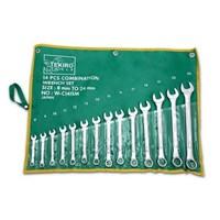 Jual Kunci Ring Set - Size 8 - 24 Mm - 14 Buah Tekiro murah berkualitas HUB atau WA 081280588834