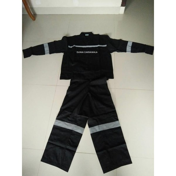 Wearpack Baju Celana Hitam Scotlite murah HUB atau WA 081280588834