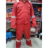 Setelan Baju Dan Celana Safety Proyek / Pakaian Safety Murah Berkualitas HUB atau WA 081280588834