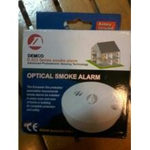 Fire Smoke Alarm Demco D - 223 Detektor Asap muraqh meriah HUB atau WA 081280588834