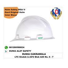 Helm MSA V-Gard Original Helm Safety Helm Inner Bi